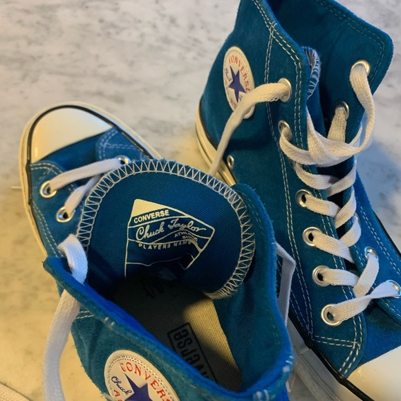 Converse Chuck Taylor Turquoise Suede